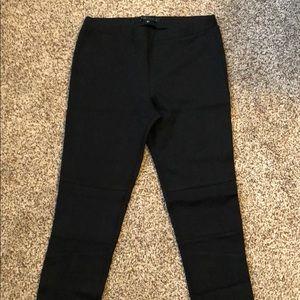 Sanctuary black Moto leggings, size M